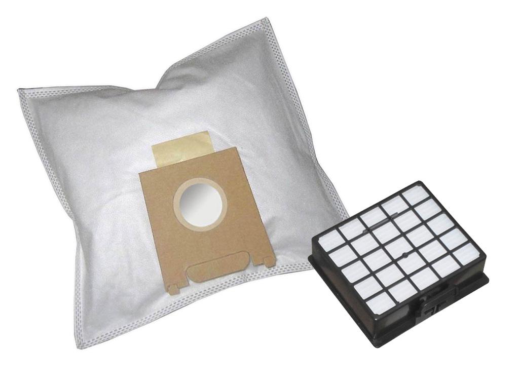 10 staubsaugerbeutel siemens vs06b112a vs06 synchropower hepa filter 800 ebay. Black Bedroom Furniture Sets. Home Design Ideas