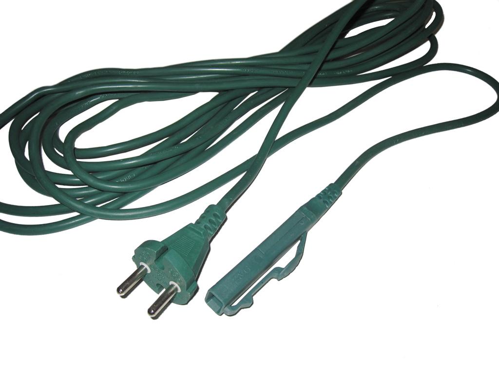 10m stromkabel kabel geeignet f r vorwerk kobold 150 vk150 elektrokabel neu. Black Bedroom Furniture Sets. Home Design Ideas